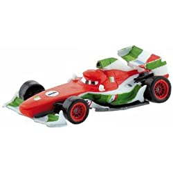 Pixar Disney Cars 2 - Figurine (ne roule pas) Francesco Bernoulli 7 cm