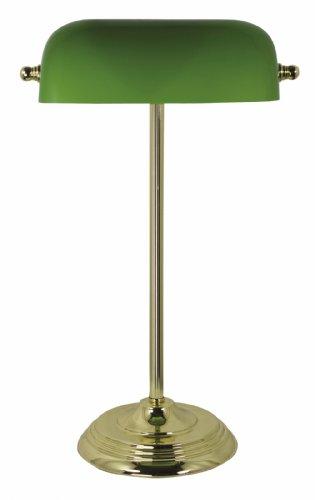 Bankers-Lampe, grün