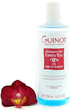 Guinot Demaquillant Express Yeux - Eye Make-up Remover 200ml (Salon Size)