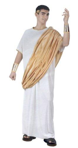 Julius Caesar Adult Costume Plus (Men's Julius Caesar Kostüm)