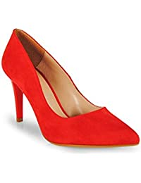 Esther Mendez - Salon Stiletto Antelina Rojo