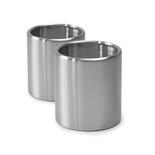 höfats - Spin 2X Bioethanol Nachfülldose aus Edelstahl ohne Brenngel - Set mit 2 Nachfüll-Dosen - Zubehör für Spin...