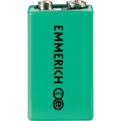 Pile bloc 9 V rechargeable NiMH 9.6 V Emmerich 255051 200 mAh 1 pc(s)