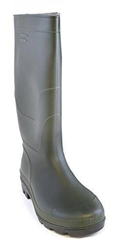 Hari Deals Mens Plain PVC Waterproof Wellington Wellies Boots