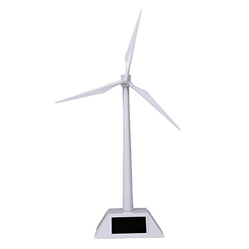 Desktop Model Solar Powered Windmills Wind Turbine Education Learning Toys Model Test