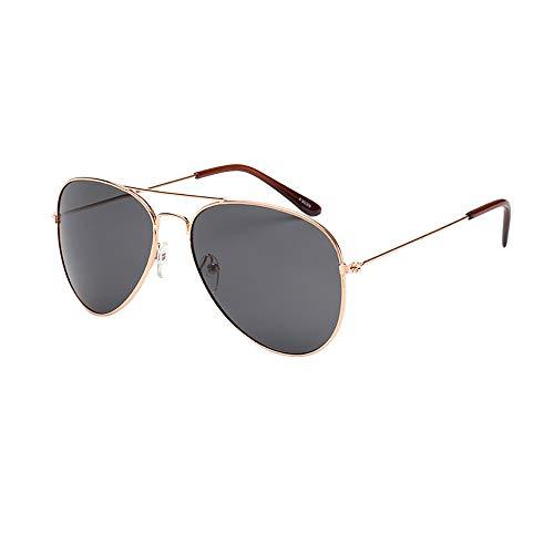 REALIKE Unisex Damen und Herren Klassische Pilotenbrille Verspiegelt Sonnenbrille Mode Übergroße Oversized Sunglasses Retro Mehrfarbauswahl Brille Travel Eyewear Brille