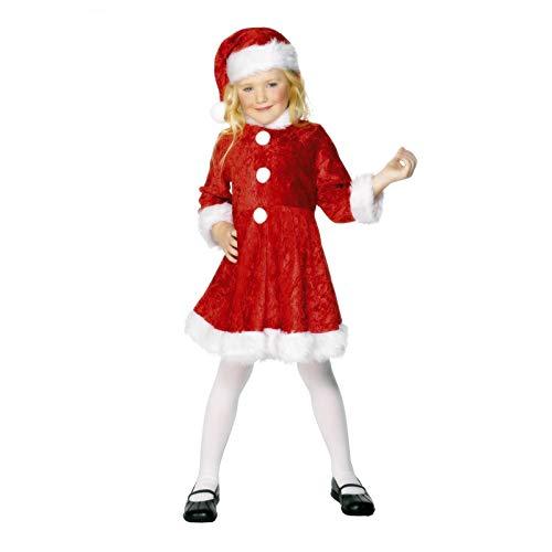 Kostüm Santa Mini Miss - Mini Miss Santa - Kinderkostüm (UK 10-12 years)