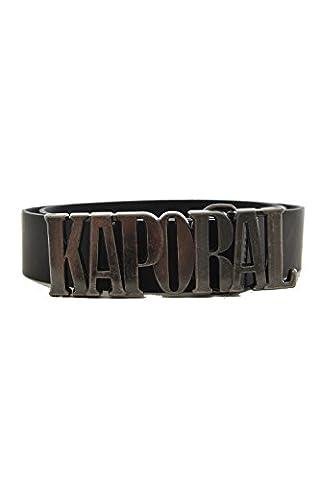 XXL ceinture kaporal left noir