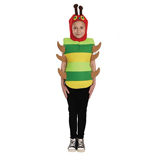 Kinder Kostüm Hungrige - Fun Shack FNK3882L Kostüm, Unisex Children, Caterpillar, L