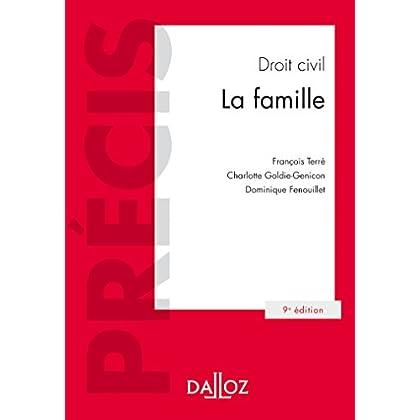 Droit civil La famille - 9e éd.