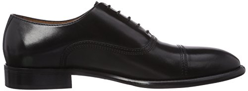 Lottusse Lottusse London L6553, Oxfords homme Noir (Schwarz)