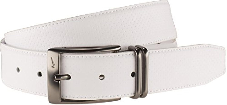 Nike Men's Pin Dot Embossed Belt With G Flex