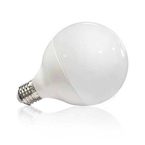 Vision-EL 77436B Ampoule LED E27 Globe 20W 4000°K Aluminium/PC + Verre, 20 W, Dépoli