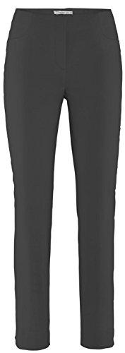 Stehmann LOLI-742 schwarz, Bequeme, stretchige Damenhose, mit etwas schmalerem Beinverlauf. 42