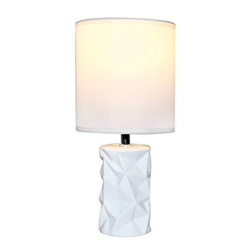 Lampe De Salon Rustle Blanche En Céramique