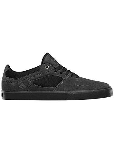 Emerica the Hsu Low Vulc, Chaussures de Skateboard Homme DARK GREY/BLACK
