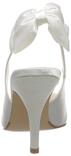 Menbur Wedding Baul Damen Slingback Elfenbein (Ivory)