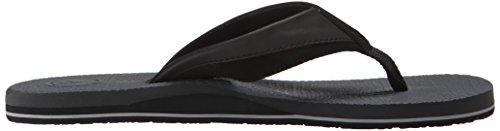 Herren Sandalen Volcom Lounger Sandals Black/Charcoal