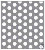 Metal Off Cuts Perforated 304 Stainless Steel Sheet 500mm x 500mm