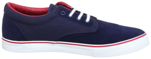 Kangaroos 7410A, Baskets mode homme Bleu (Navy/Red 406)