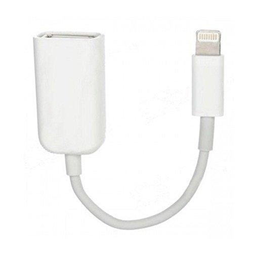 sonero 40233 USB Adapter-Kabel mit 8-pin-Stecker für Apple iPhone 5 – 7 + iPad mini, Air für Digital-Kamera (bis iOS 10.2)