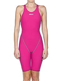 Arena - Traje de carreras para mujer Powerskin ST 2.0 con espalda abierta, para mujer, mujer, 2A898, fucsia, 30