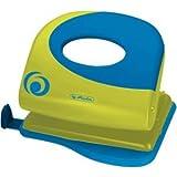 Herlitz Bürolocher 2.0mm mit Anschlagschiene Ergonomie sporty lemon