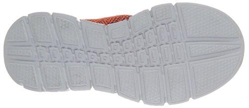 Skechers Equalizer 2.0 Perfect Game, Baskets Basses Garçon Gris (Ccor Gris/Orange)