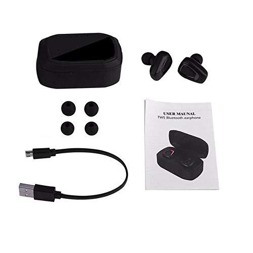 Peanutaoc Mini True Wireless Sport-Ohrhörer HiFi In-Ear-Stereo-Ohrhörer Walking Jogging Ohrhörer für Telefon Tablet-Computer