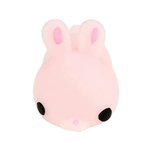 Omiky® Nette Mochi Squishy Katze Squeeze Heilung Spaß Kinder Kawaii Spielzeug Stress Reliever Dekor (Rosa)