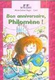 Bon anniversaire Philomène !
