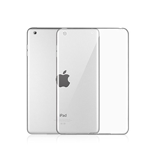 Robustrion Transparent Back Cover For iPad 2017 9.7 Inch (A1822/A1823) (Clear)