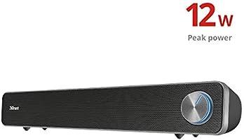 Trust Arys Soundbar USB PC Speaker, Zwart