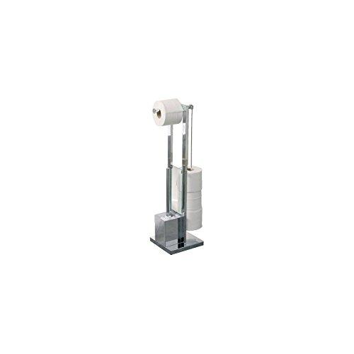 Allibert M1859541 - Portarrollos de baño (cromo)