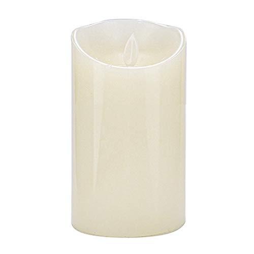 koulate Mini Velas sin Llama con Pilas, luz Brillante de la Vela de la falsificación de la decoración casera Que oscila del Pilar(2#)