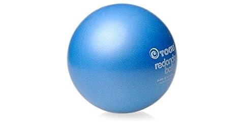 3 x Togu Redondo Ball Pilates Ball Gymanstik Yoga Fitness Therapie 22cm blau (Pilates Ball)