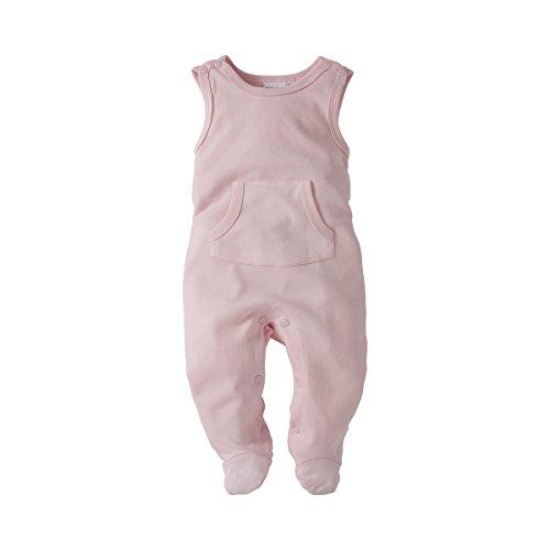 BORNINO Strampler Baby Strampelanzug, Größe 62/68, rosa