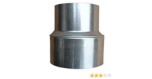 Reduce 150mm 120mm Smoke Pipe Oven Pipe Grey Stove Chimney Pipe Reduction