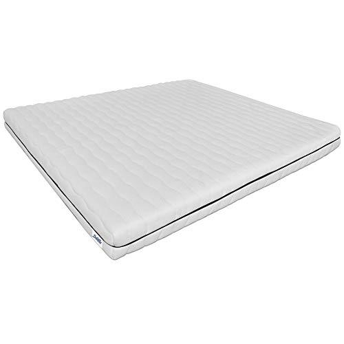 Baldiflex Wolke 11 Komfortschaummatratze, Orthopädische, Härtegrad 2 (H2), Bezug waschbar 60°C, (150 x 200 x 11 cm)