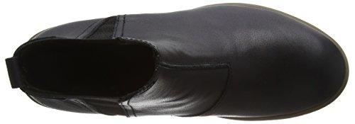 EL NATURALISTA NG13 IBON black scarpe donna stivaletti tronchetti elastici Nero (BLACK N01)