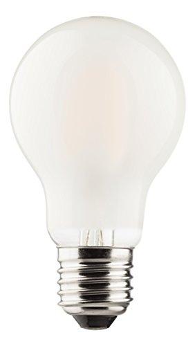 MÜLLER-LICHT 400178 A++, Retro-LED Lampe Birnenform ersetzt 60 W, Glas, 6 W, E27, weiß, 6 x 6 x 10,6 cm [Energieklasse A++]