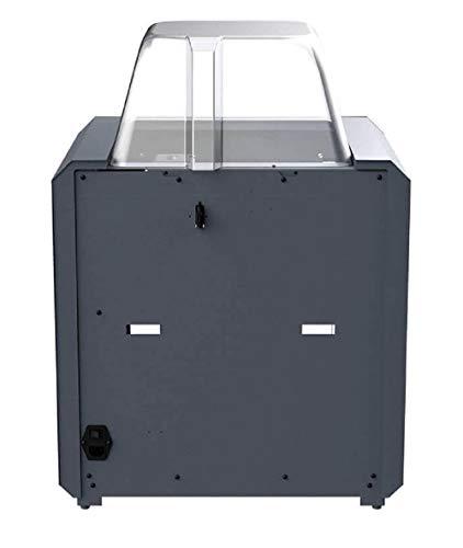 Monoprice 300 3D-Drucker - Schwarz mit großer beheizter Bauplatte (280 x 250 x 300 mm) Vollständig geschlossen, Touchscreen, unterstütztes Nivellieren, einfaches WLAN, 8 GB interner Speicher - 4