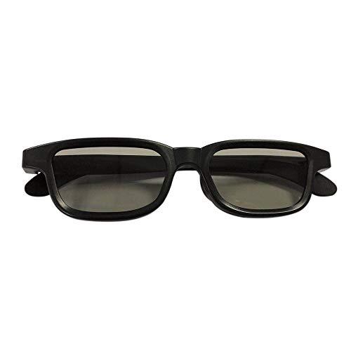 Gamogo G90 Passive 3D-Brille Polarisierte Gläser für Kino Leichte, tragbare Filme anschauen