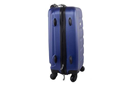 31O2ga5u94L - Maleta rígida PIERRE CARDIN azul mini equipaje de mano ryanair S210