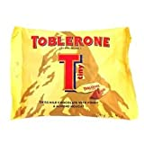 Toblerone Tiny Swiss Milk Chocolate Honey & Almond Nougat, 200 Grams