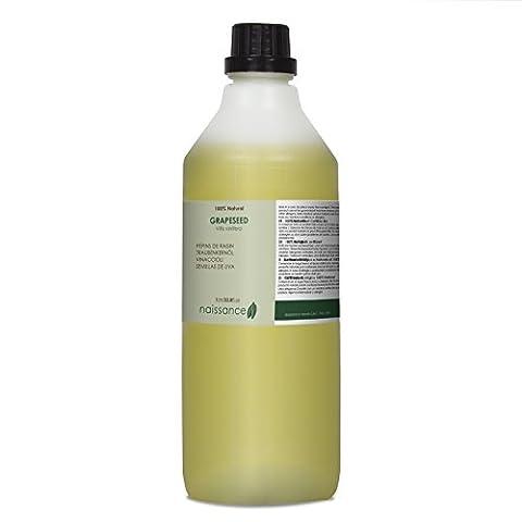 Naissance Huile Végétale de Pépins de Raisin 100% naturelle - 1L