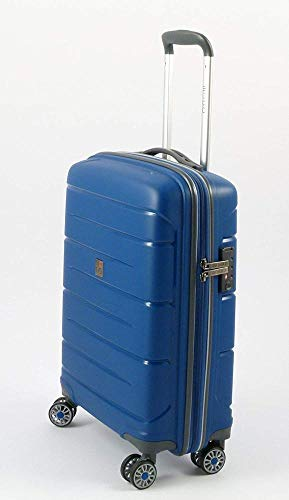 Roncato Starlight 2.0 Bagaglio a Mano, 55 cm, 40 litri, Azzurro