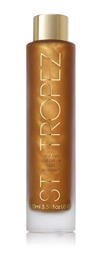 St.Tropez Self Tan Luxe Dry Oil, 1er Pack (1 x 100 ml) -