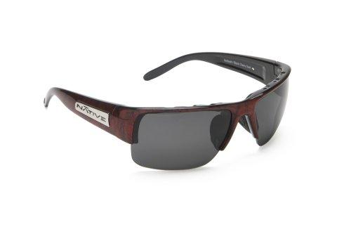 Native Eyewear Sonnenbrille Ambush, Herren, Black Cherry Swirl