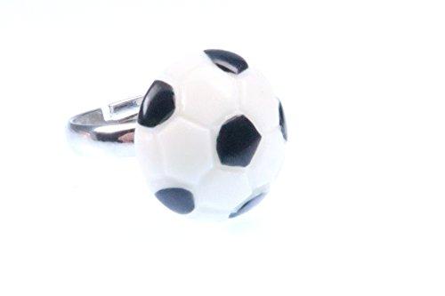 Fussball Ring schwarz weiss Sport Ballsport Soccer